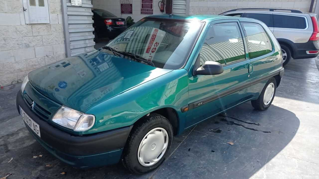Citroën Saxo ocasión segunda mano 1996 Diésel por 1.500€ en Málaga