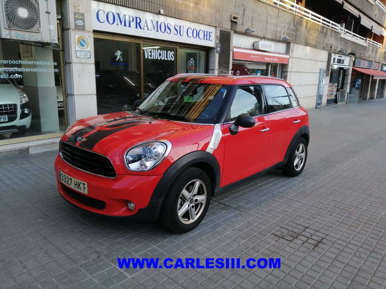 Mini Countryman Diésel en Barcelona