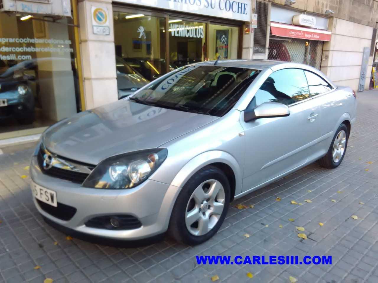Opel Astra Cabrio Gasolina en Barcelona