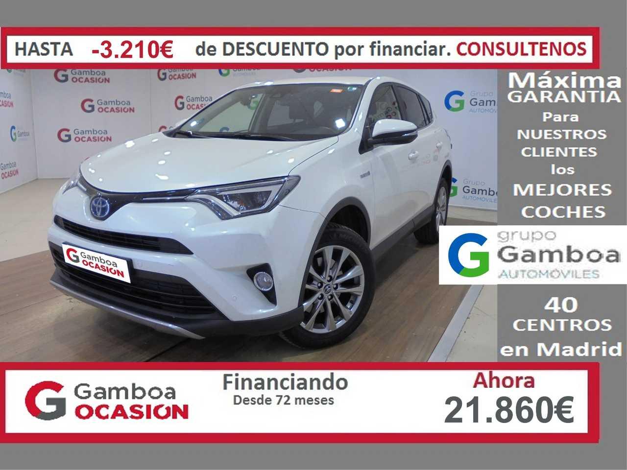 Toyota Rav4 Híbrido (Gasolina) en Leganés