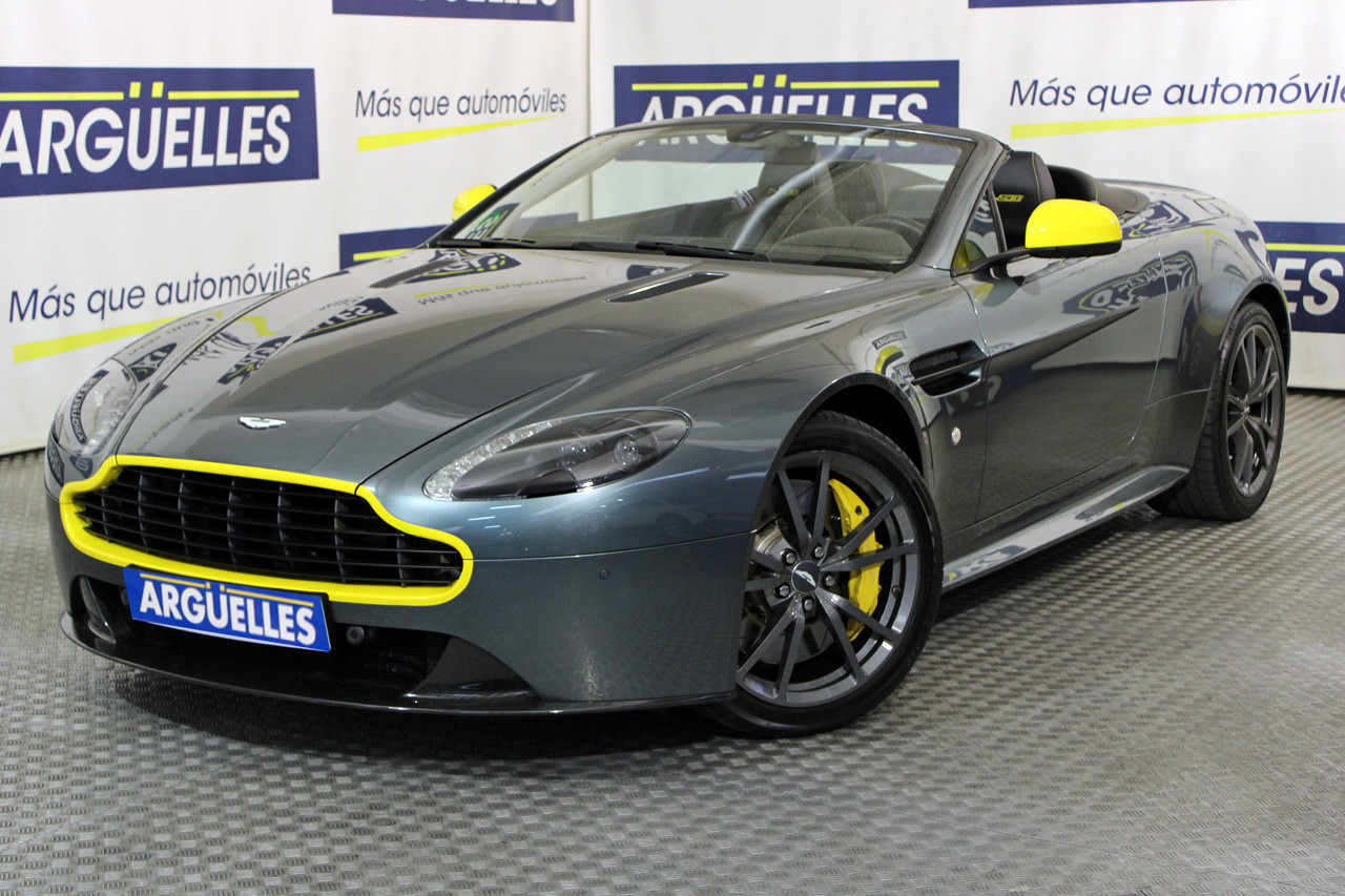 Aston martin Vantage Gasolina en Madrid