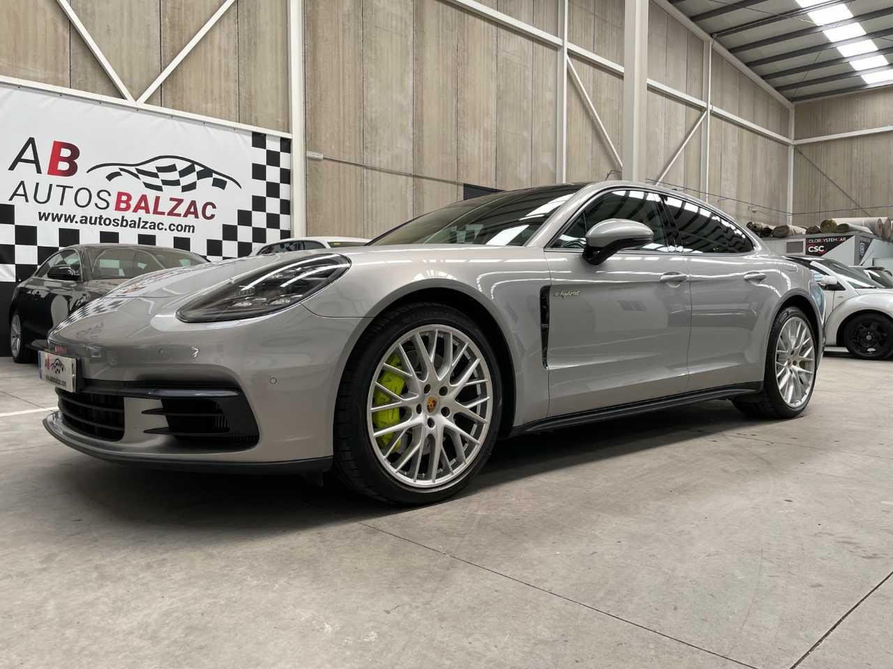 Porsche Panamera ocasión segunda mano 2018 Híbrido por 89.690€ en Málaga