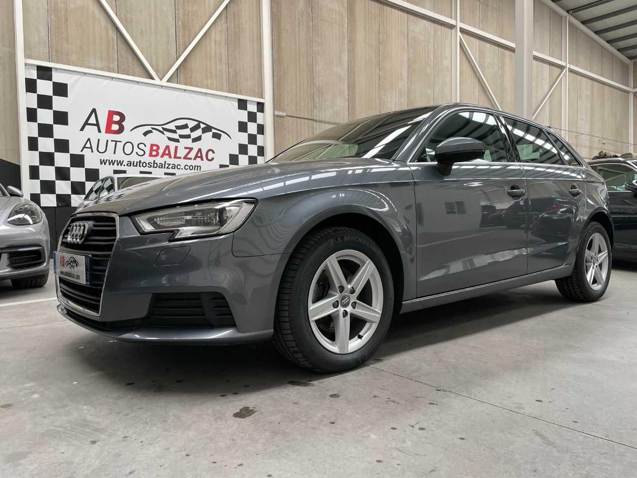 Audi A3 Sportback ocasión segunda mano 2018 Diésel por 18.490€ en Málaga