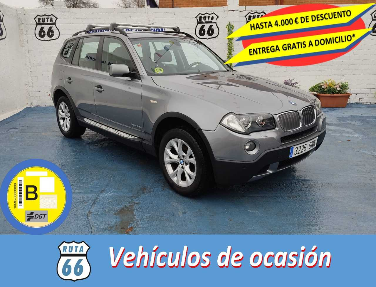 BMW X3 Diésel en Velilla de San Antonio