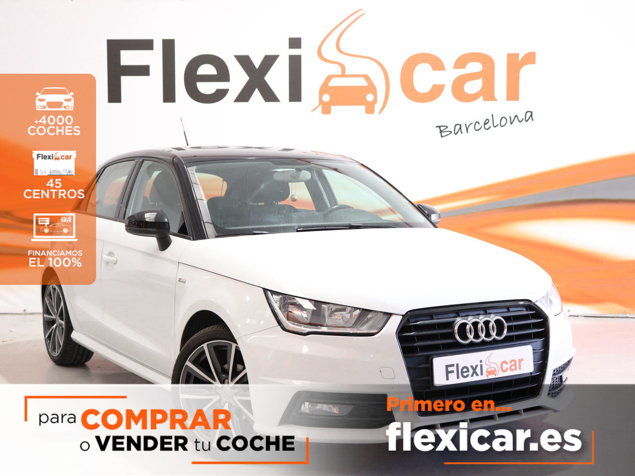 Audi A1 ocasión segunda mano 2016 Gasolina por 14.490€ en Barcelona
