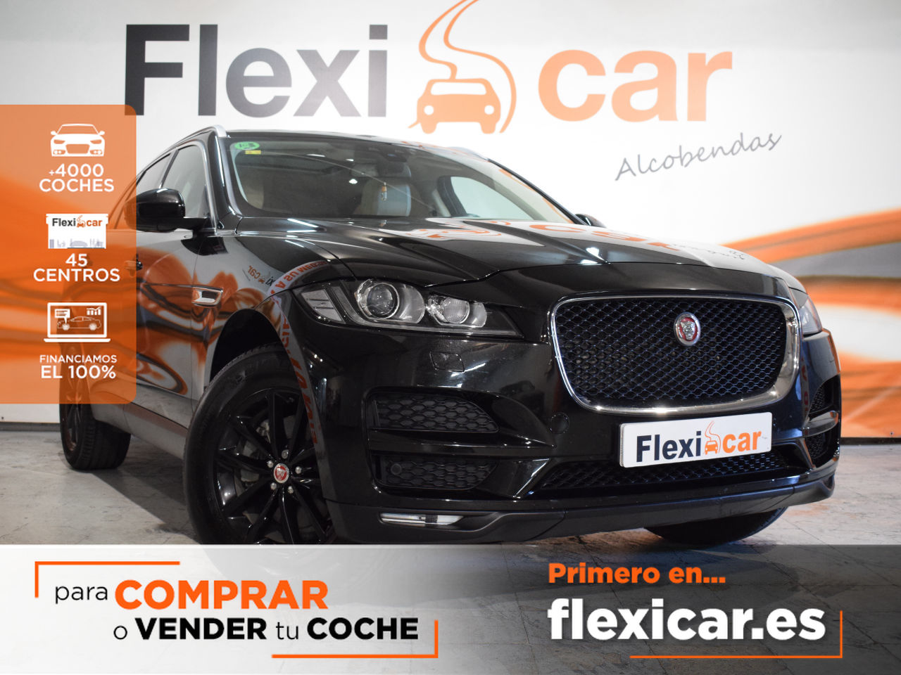 Jaguar F-Pace ocasión segunda mano 2016 Diésel por 31.490€ en Madrid