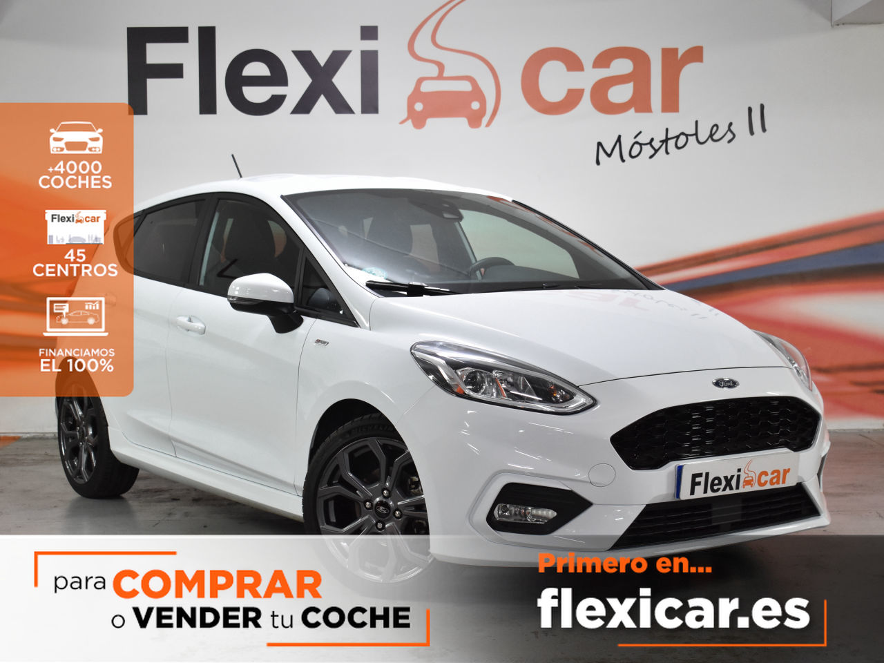 Ford Fiesta ocasión segunda mano 2019 Gasolina por 13.900€ en Madrid