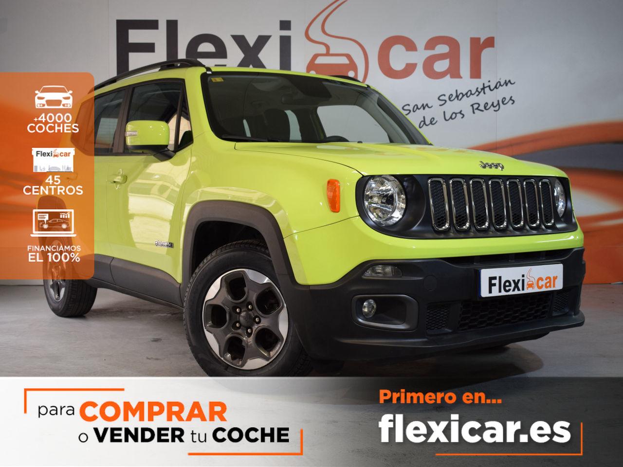 Jeep Renegade ocasión segunda mano 2018 Diésel por 19.490€ en Madrid