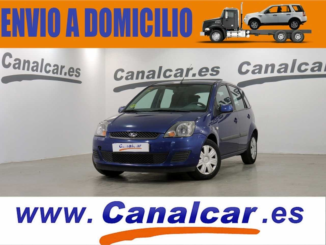 Ford Fiesta ocasión segunda mano 2008 Diésel por 2.990€ en Madrid