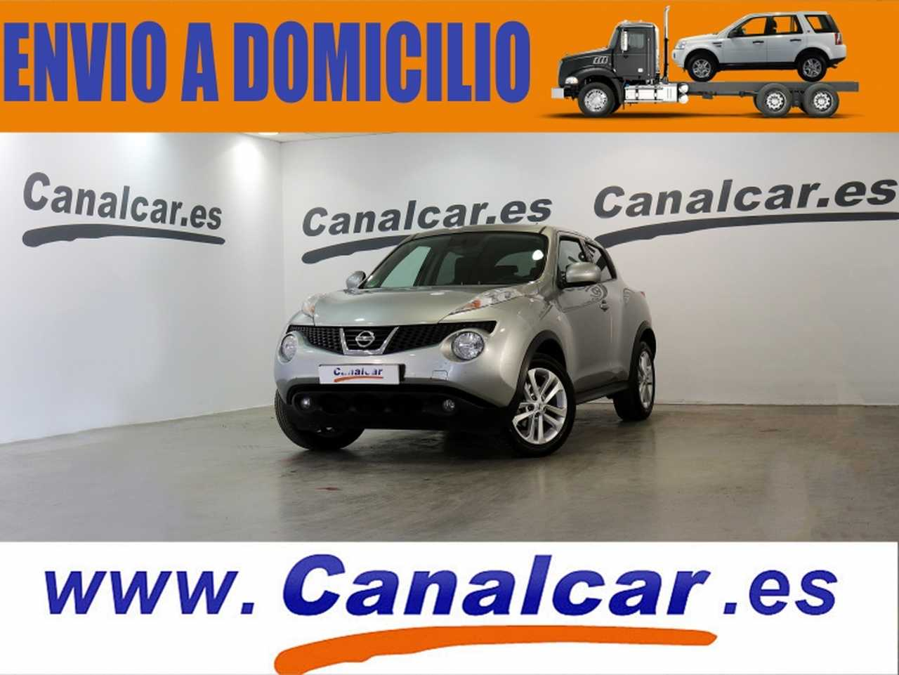 Nissan Juke ocasión segunda mano 2012 Gasolina por 7.990€ en Madrid