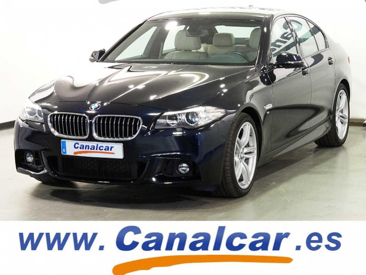 BMW Serie 5 ocasión segunda mano 2014 Diésel por 19.985€ en Madrid