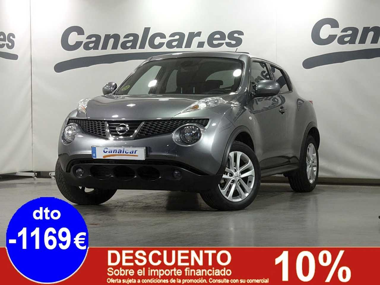 Nissan Juke ocasión segunda mano 2013 Diésel por 9.885€ en Madrid