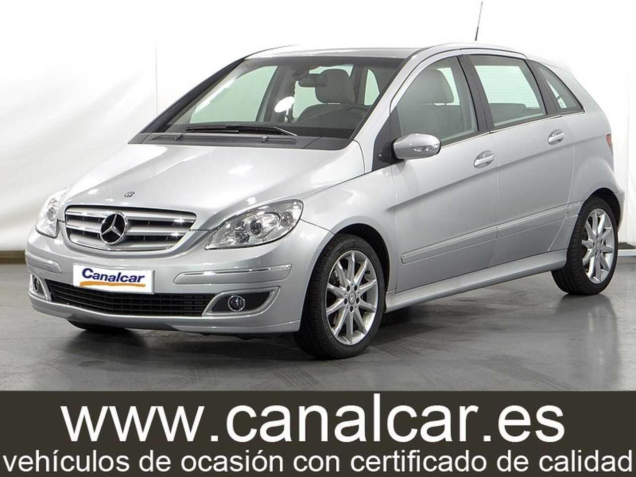 Mercedes Benz Clase B ocasión segunda mano 2008 Gasolina por 7.785€ en Madrid
