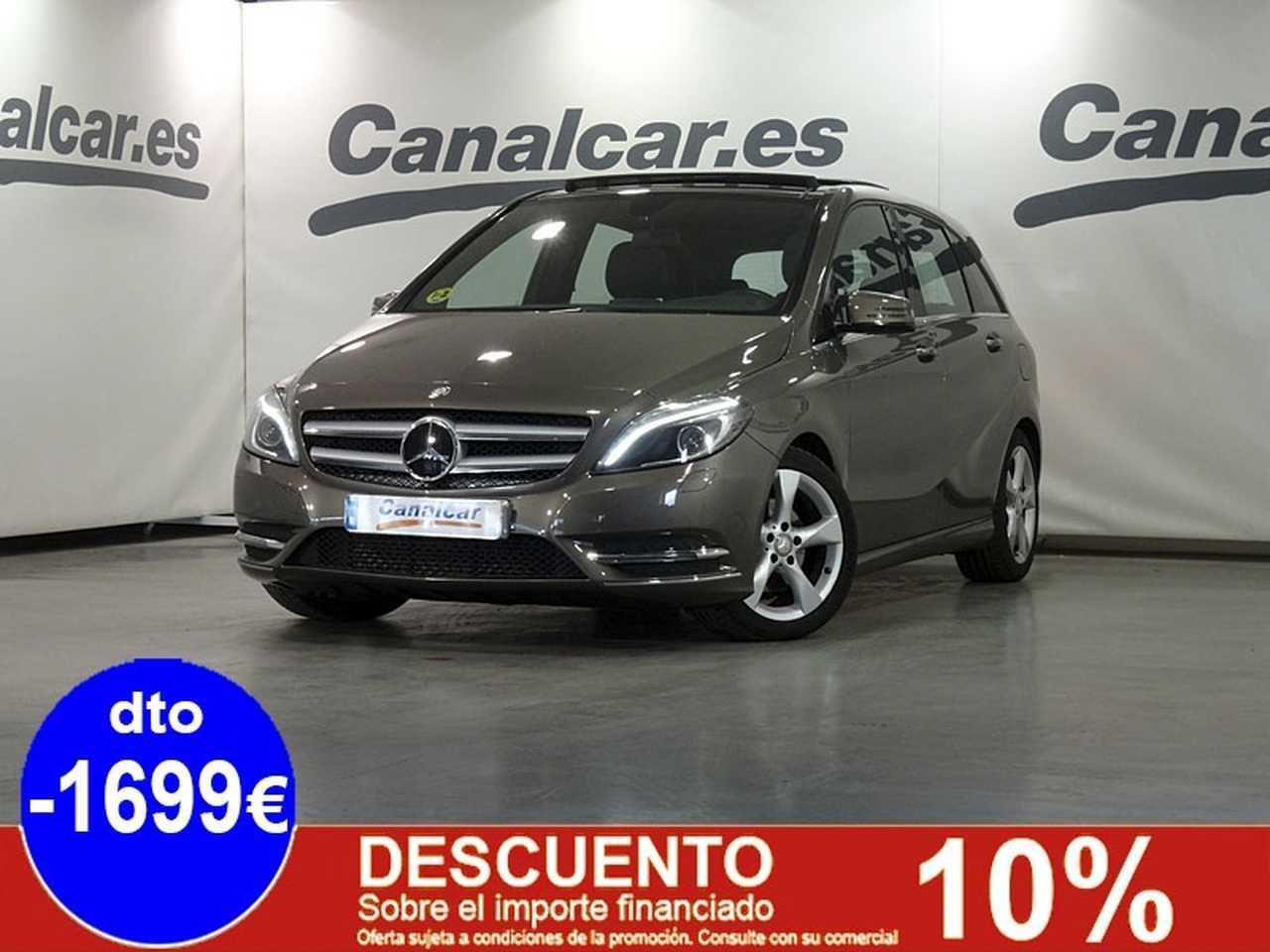 Mercedes Benz Clase B ocasión segunda mano 2013 Diésel por 14.995€ en Madrid