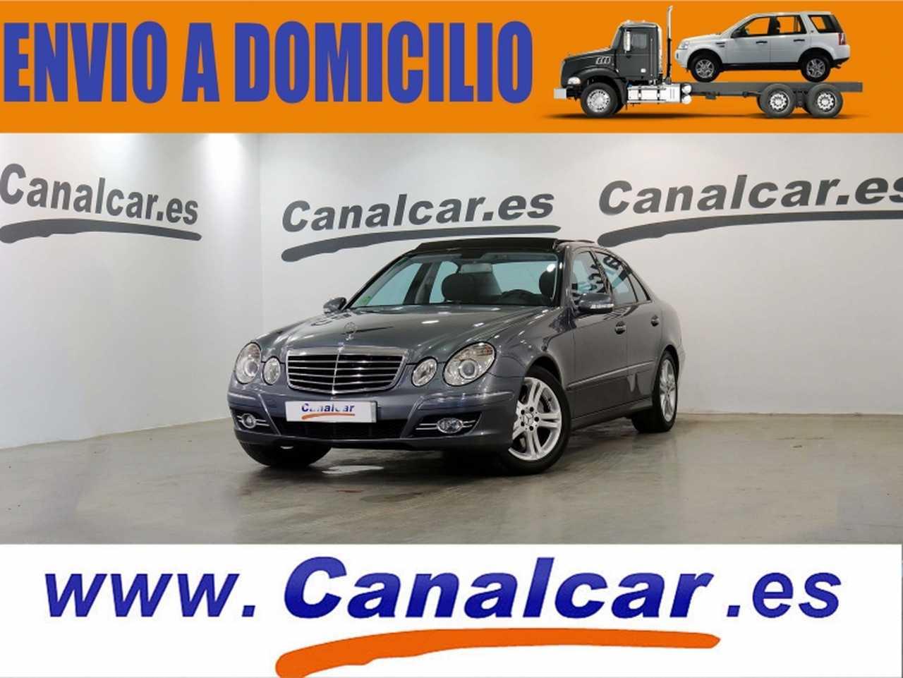Mercedes Benz Clase E ocasión segunda mano 2008 Gasolina por 11.990€ en Madrid