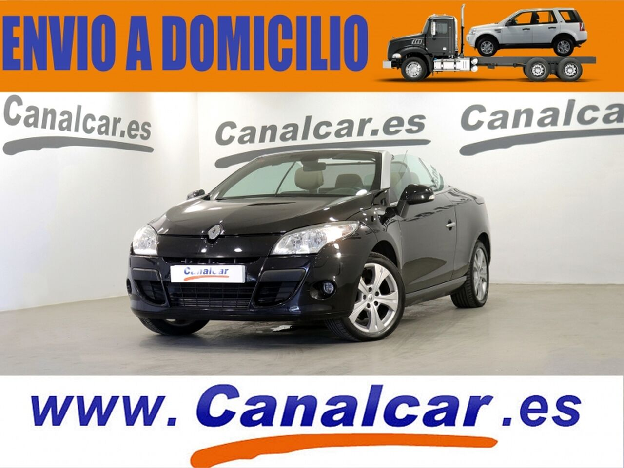 Renault Megane ocasión segunda mano 2010 Gasolina por 6.490€ en Madrid