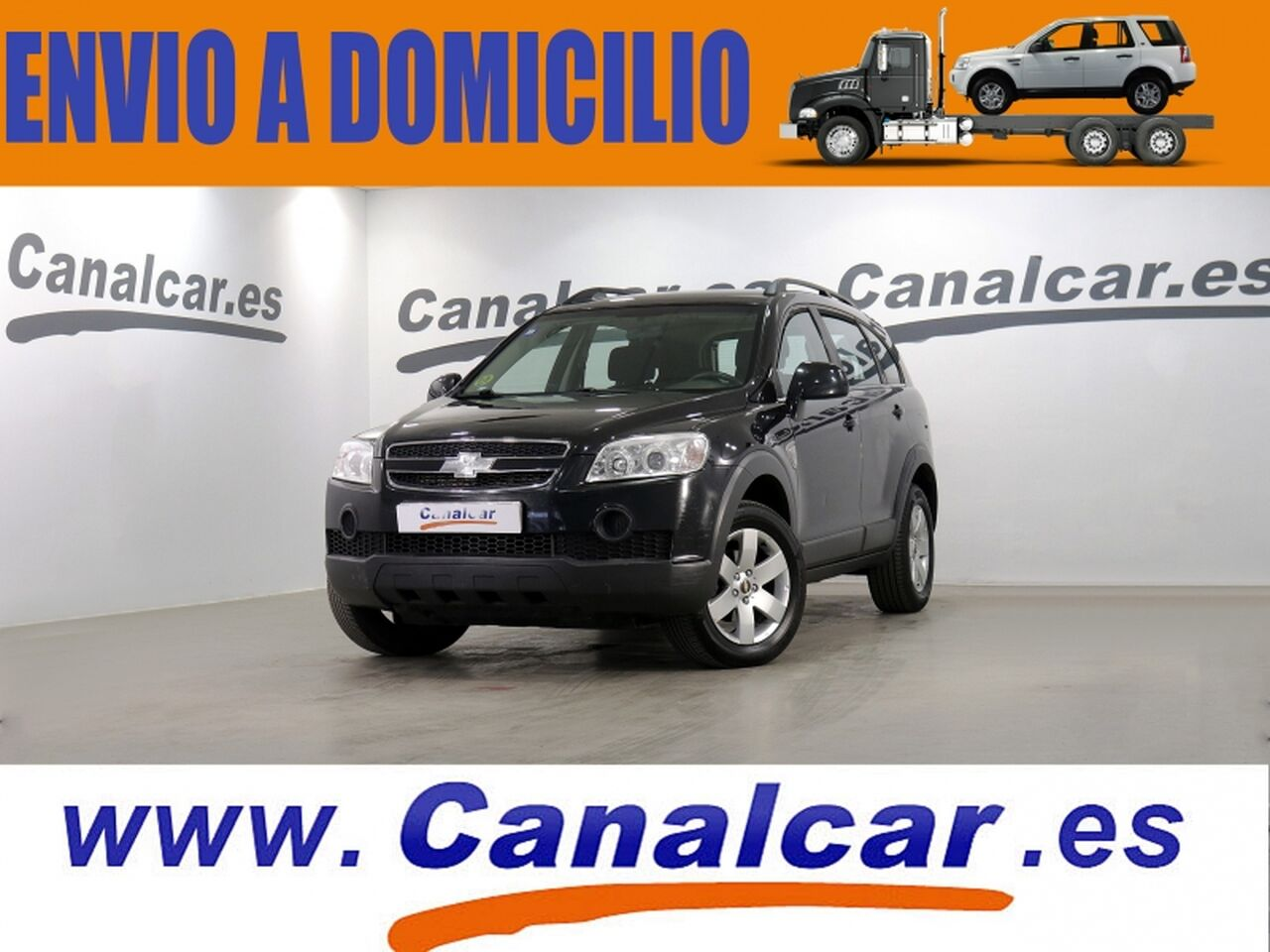 Chevrolet Captiva ocasión segunda mano 2009 Diésel por 8.990€ en Madrid