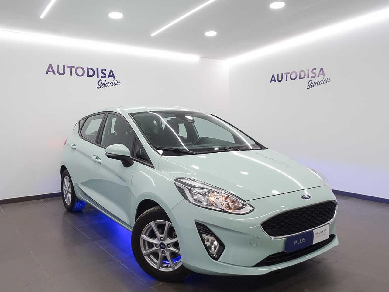 Ford Fiesta ocasión segunda mano 2018 Gasolina por 9.695€ en Valencia
