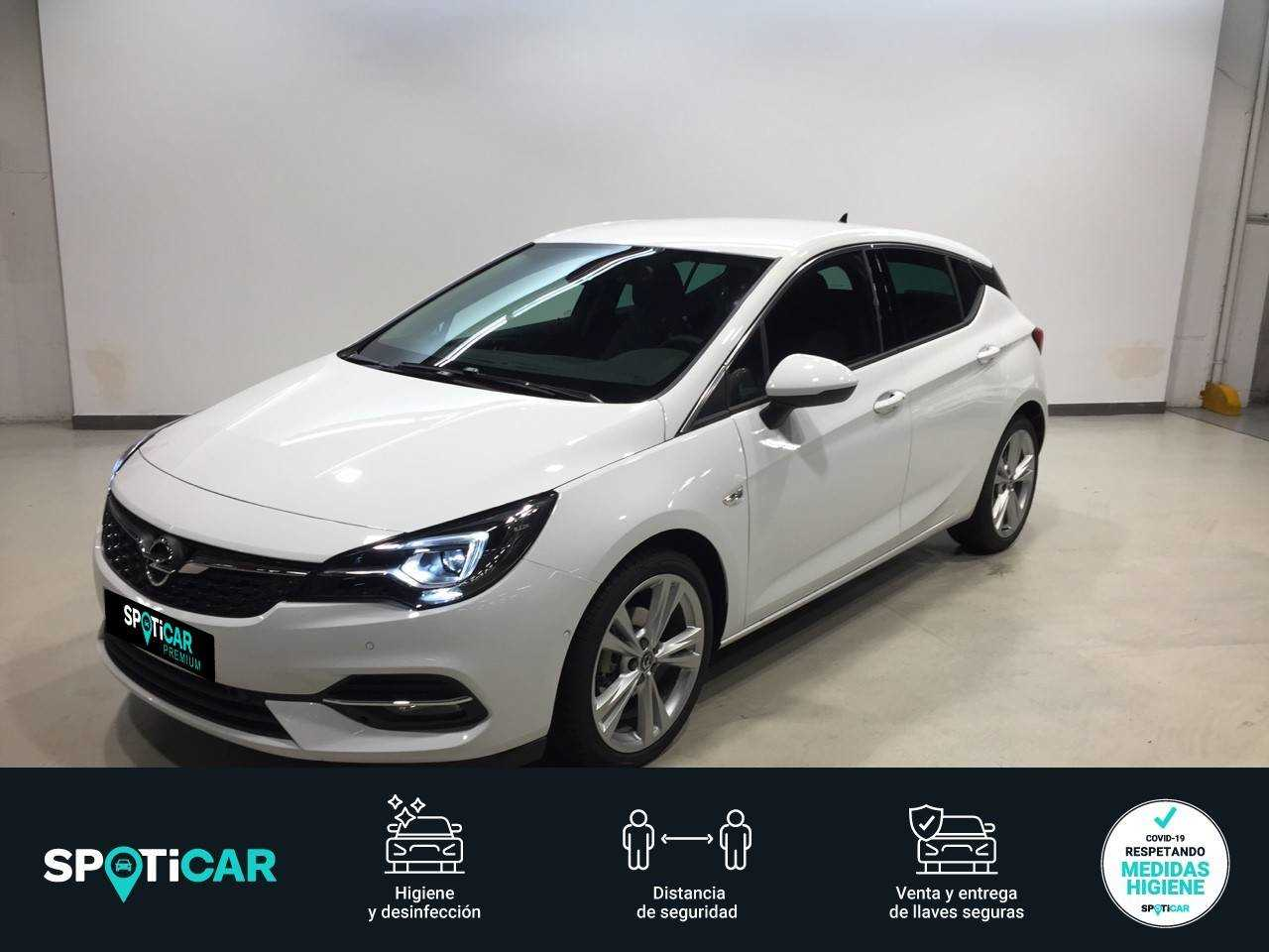 Opel Astra ocasión segunda mano 2020 Gasolina por 23.490€ en Madrid