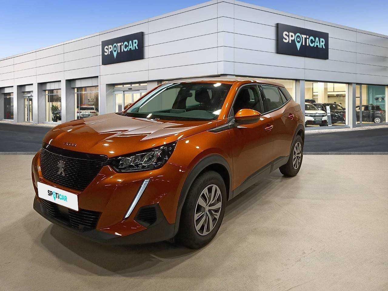 Peugeot 2008 ocasión segunda mano 2020 Gasolina por 18.400€ en Madrid