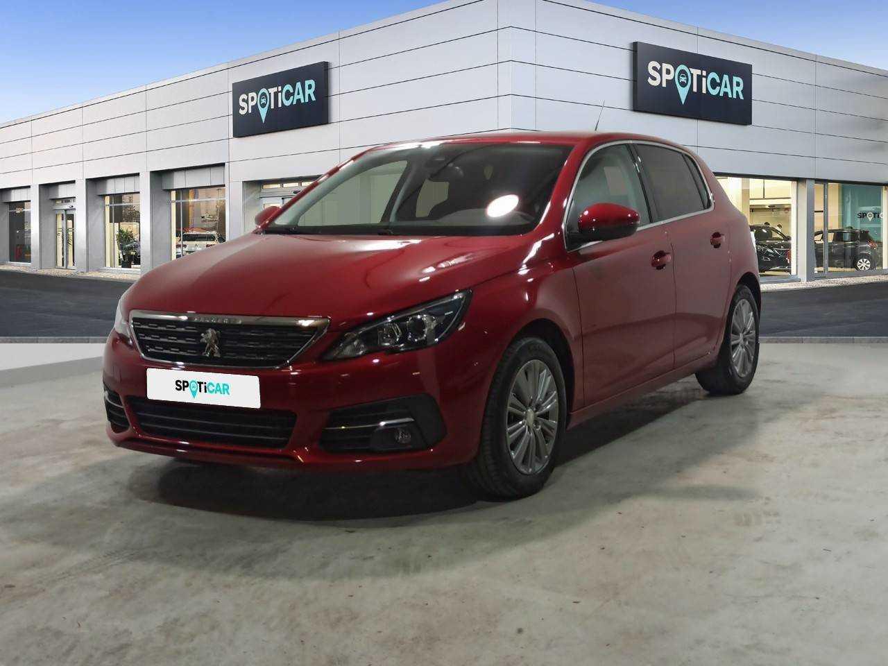 Peugeot 308 ocasión segunda mano 2021 Gasolina por 20.900€ en Barcelona