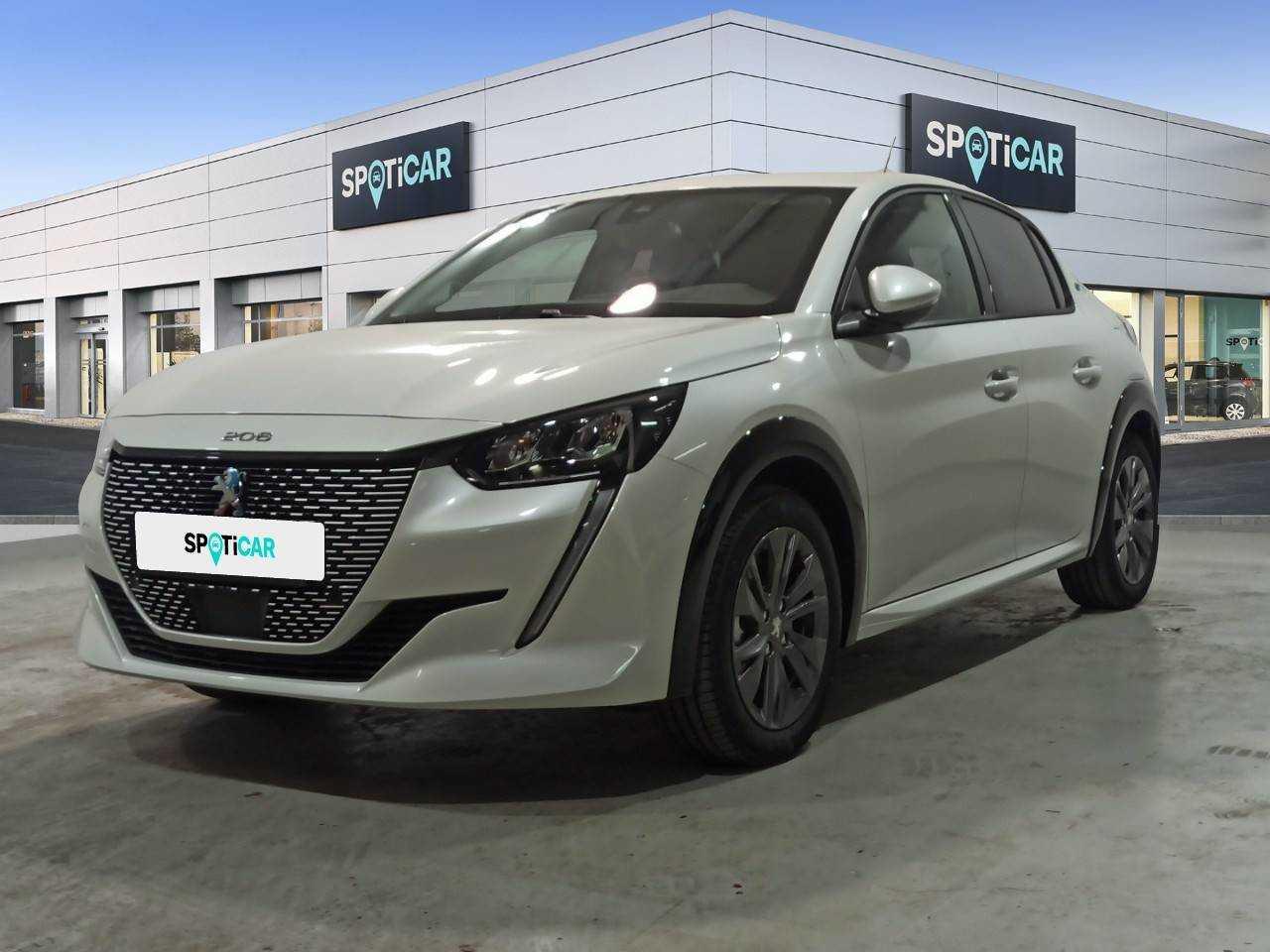 Peugeot 208 ocasión segunda mano 2021 Eléctrico por 25.900€ en Barcelona