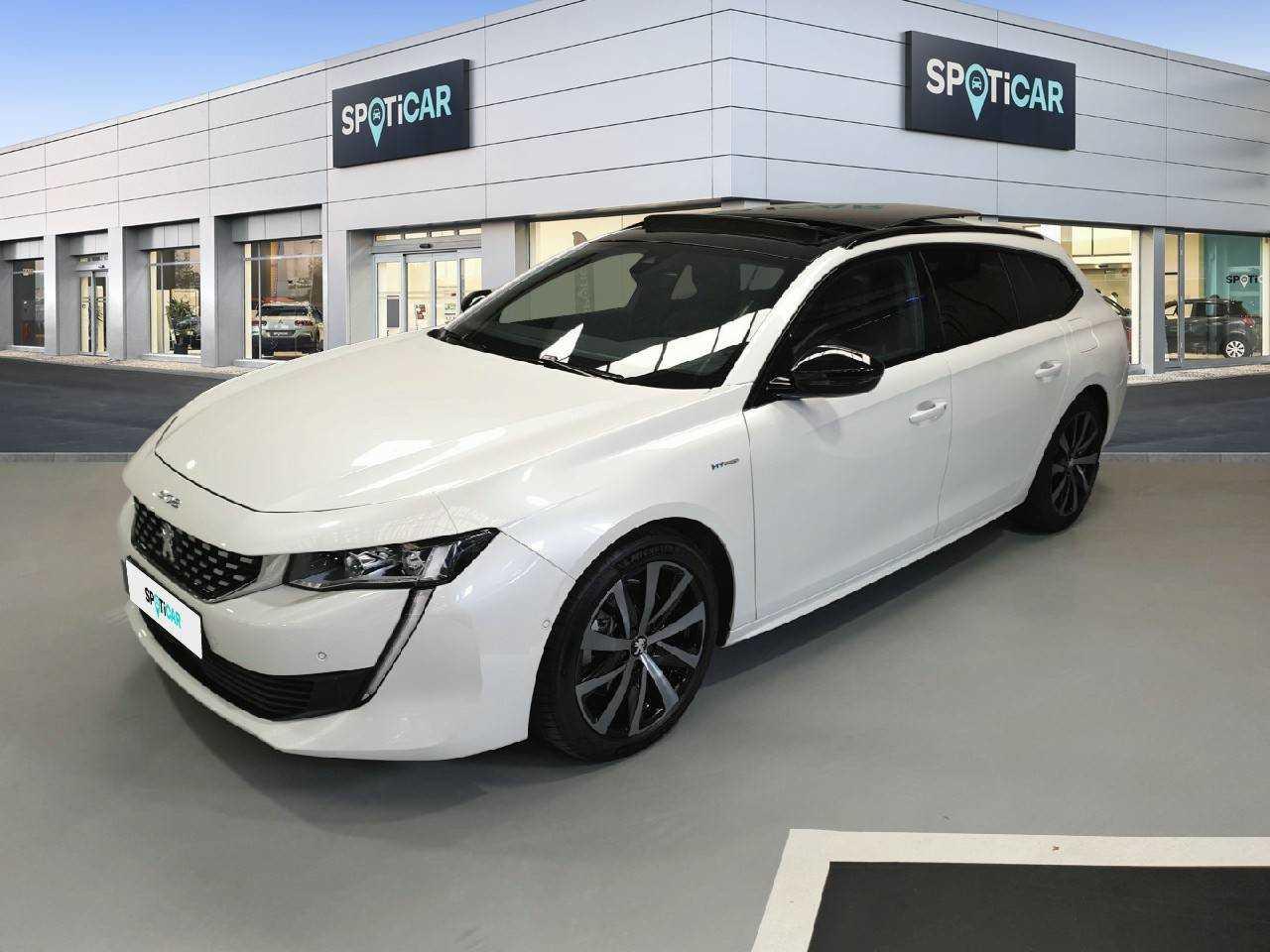 Peugeot 508 ocasión segunda mano 2020 Eléctrico por 35.900€ en Coruña