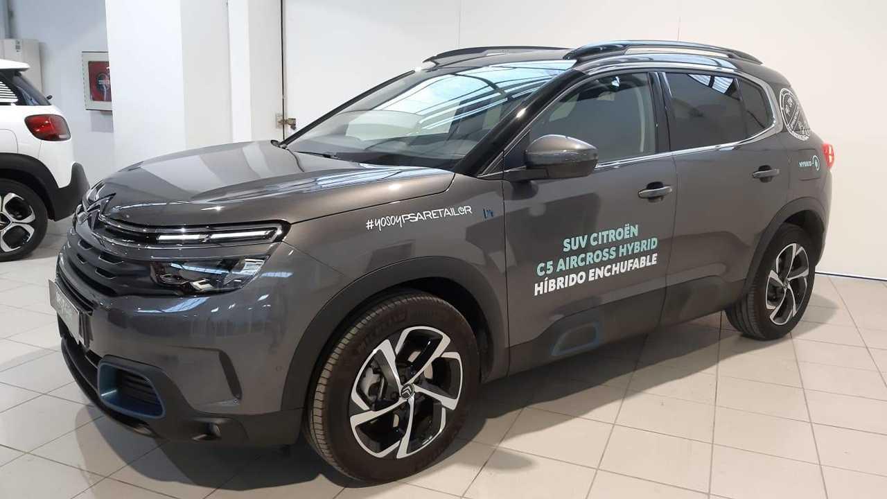 Citroën C5 Aircross ocasión segunda mano 2020 Eléctrico por 30.600€ en Baleares