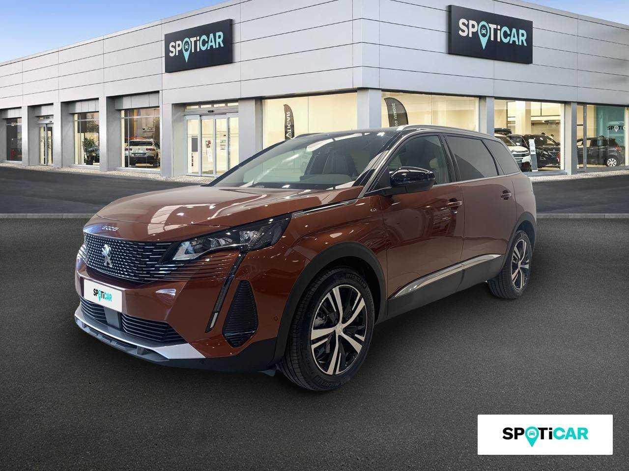 Peugeot 5008 ocasión segunda mano 2021 Diésel por 33.690€ en Granada
