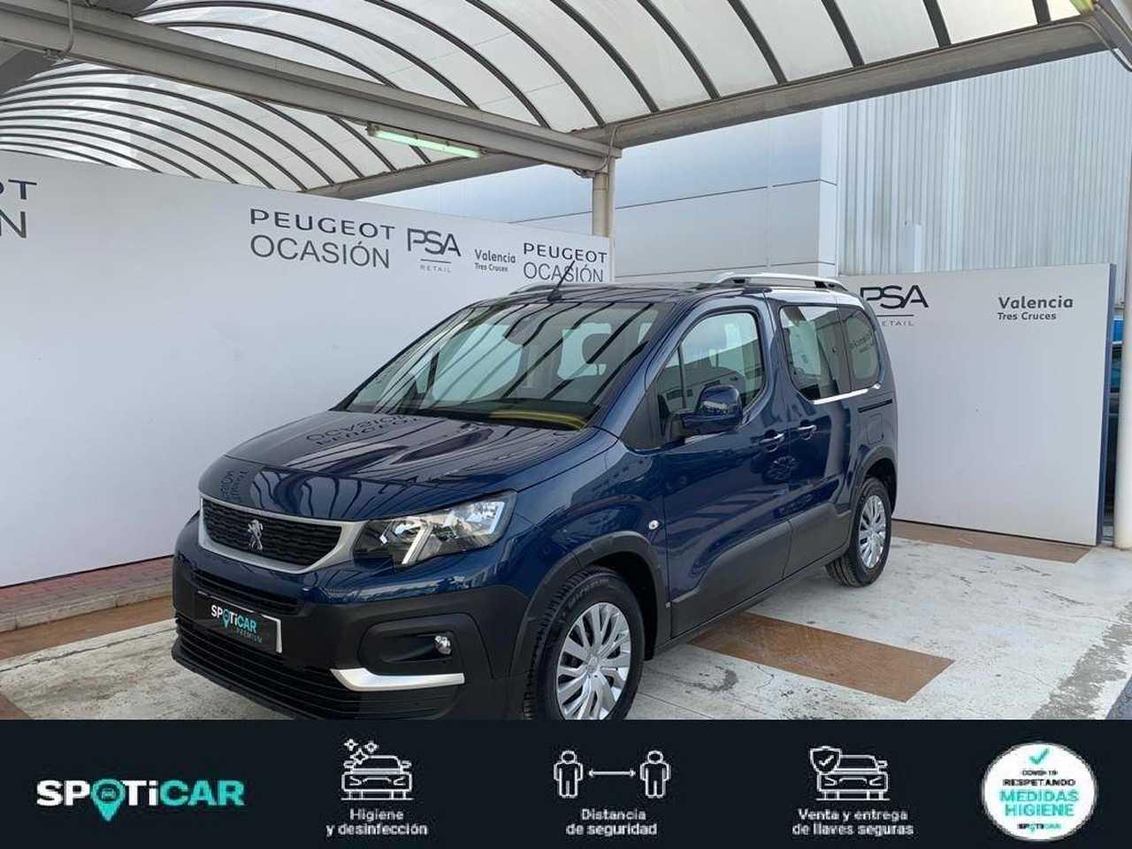 Peugeot Rifter ocasión segunda mano 2021 Diésel por 21.400€ en Valencia