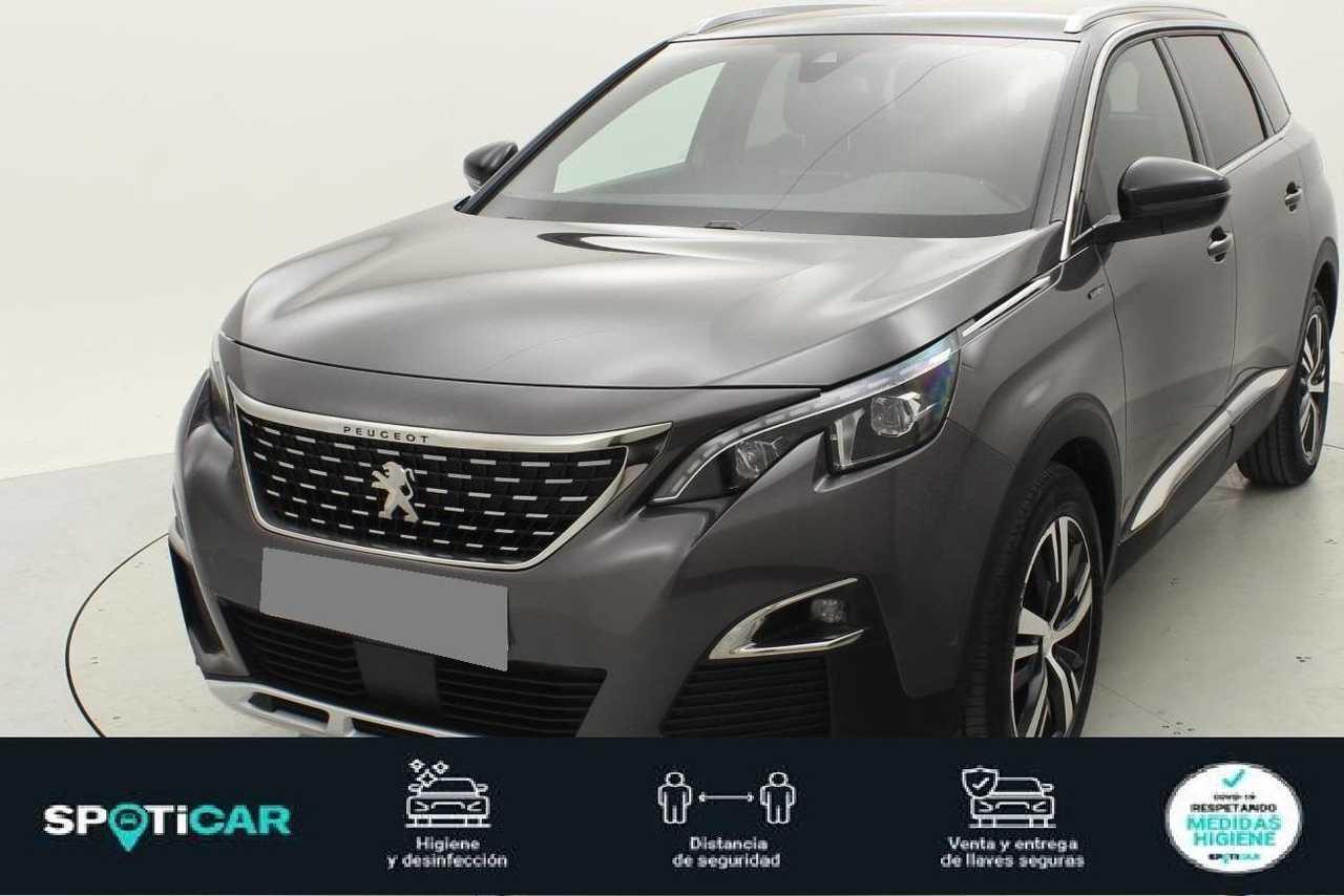 Peugeot 5008 ocasión segunda mano 2021 Gasolina por 34.400€ en Valencia