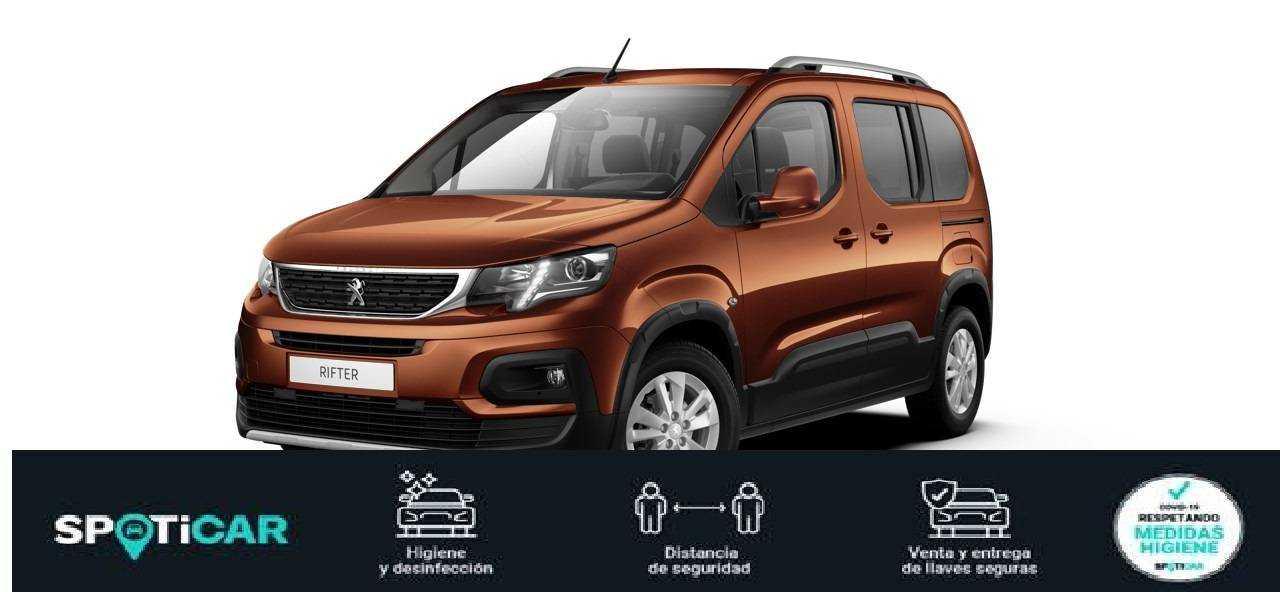 Peugeot Rifter ocasión segunda mano 2021 Diésel por 23.400€ en Valencia