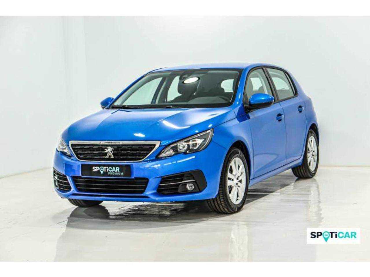 Peugeot 308 ocasión segunda mano 2021 Gasolina por 21.400€ en Valencia
