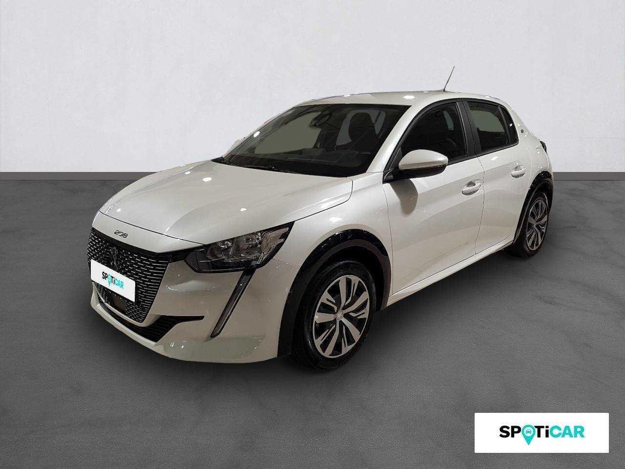 Peugeot 208 ocasión segunda mano 2021 Eléctrico por 24.900€ en Valencia