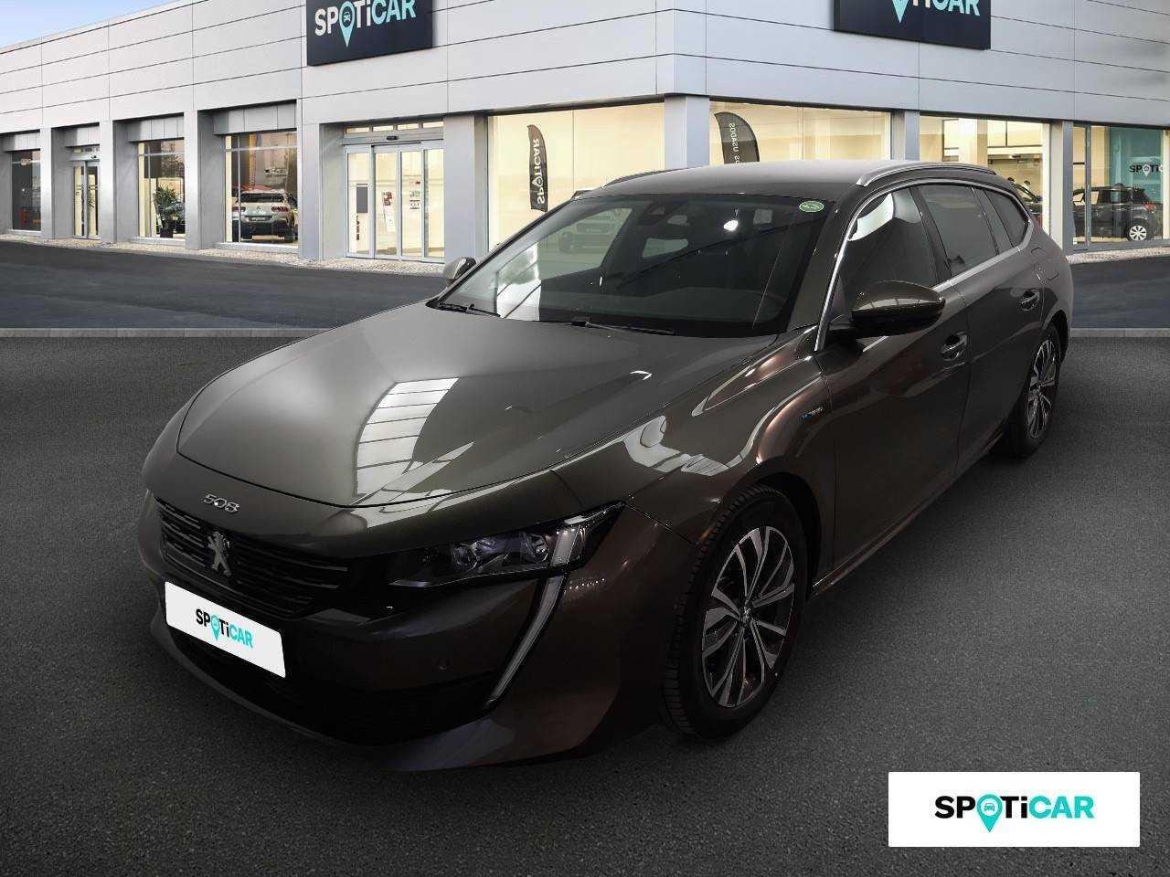 Peugeot 508 ocasión segunda mano 2020 Eléctrico por 30.890€ en Málaga