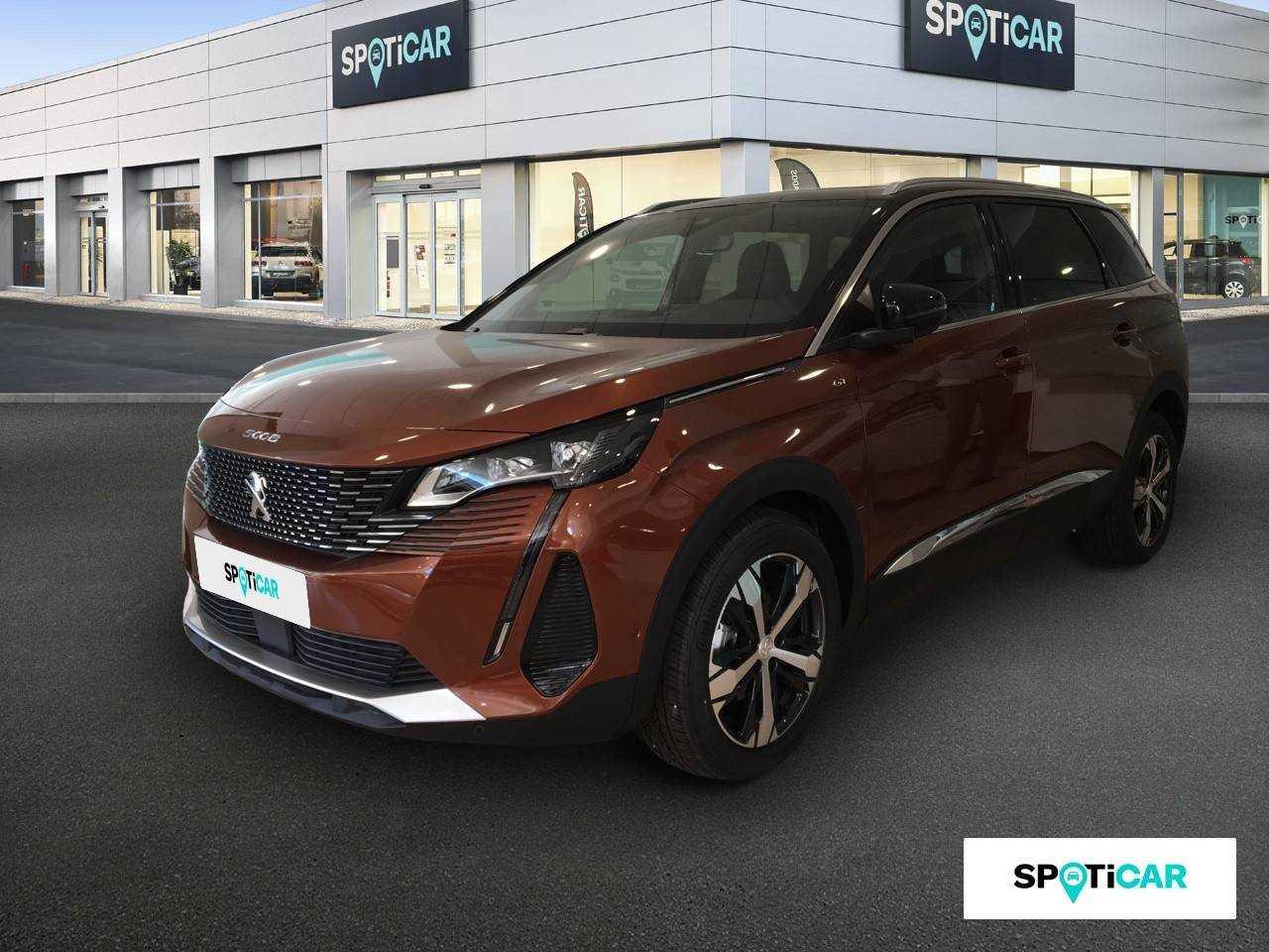 Peugeot 5008 ocasión segunda mano 2021 Diésel por 37.900€ en Huelva