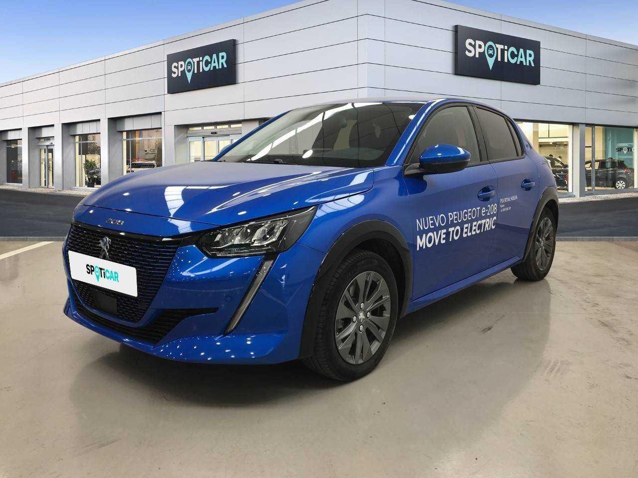 Peugeot 208 ocasión segunda mano 2020 Eléctrico por 25.900€ en Huelva