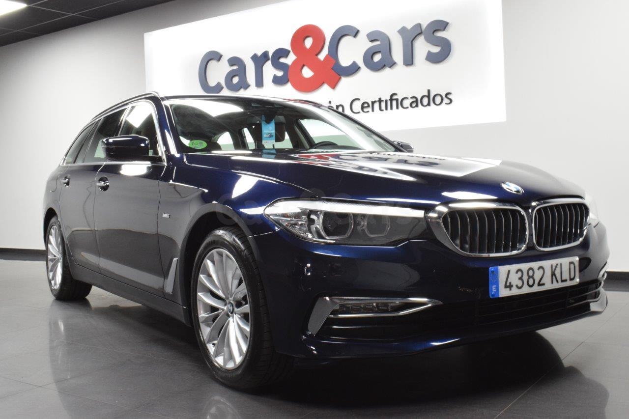Foto 2 del anuncio BMW 520dA Touring - E 4382 KLD de segunda mano en Madrid