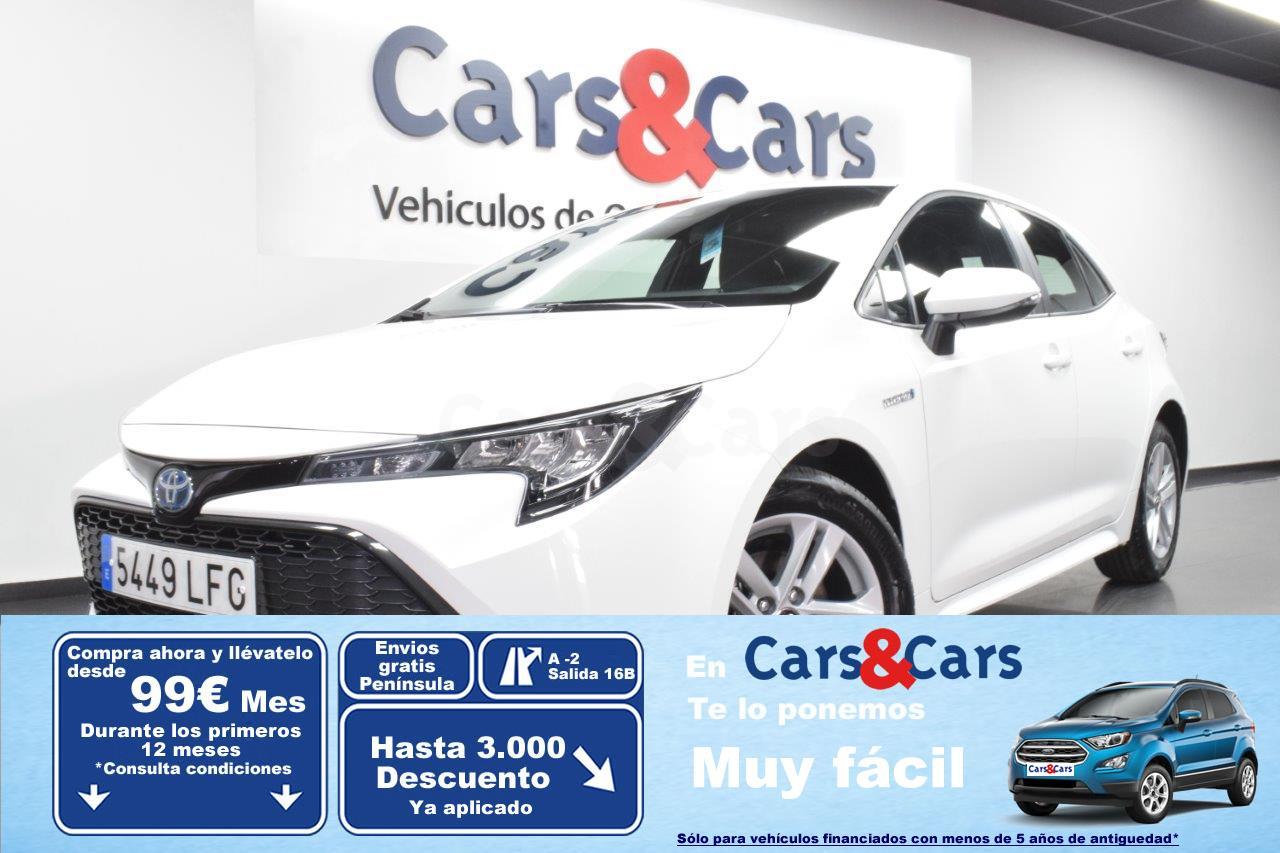 Toyota Corolla ocasión segunda mano 2020 Híbrido por 18.695€ en Madrid