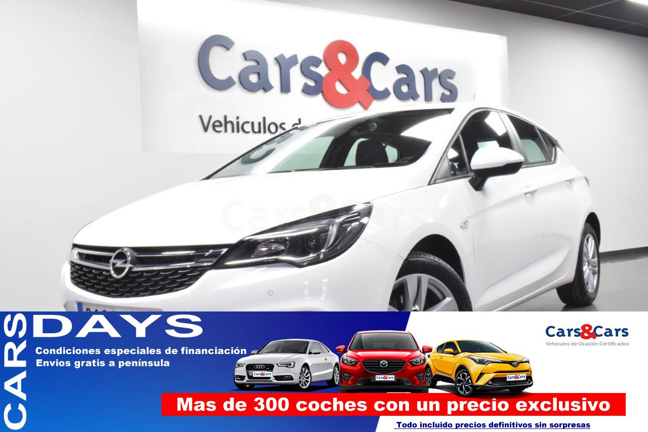 Opel Astra ocasión segunda mano 2017 Gasolina por 10.995€ en Madrid
