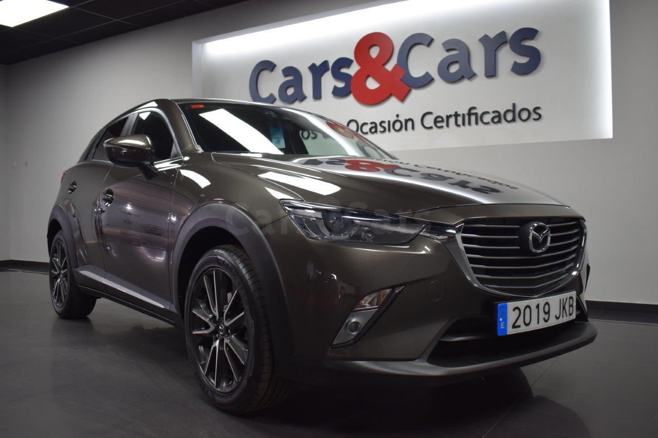 Foto 2 del anuncio MAZDA CX-3 2.0 Luxury 2WD Aut. 120 - E 2019 JKB de segunda mano en Madrid
