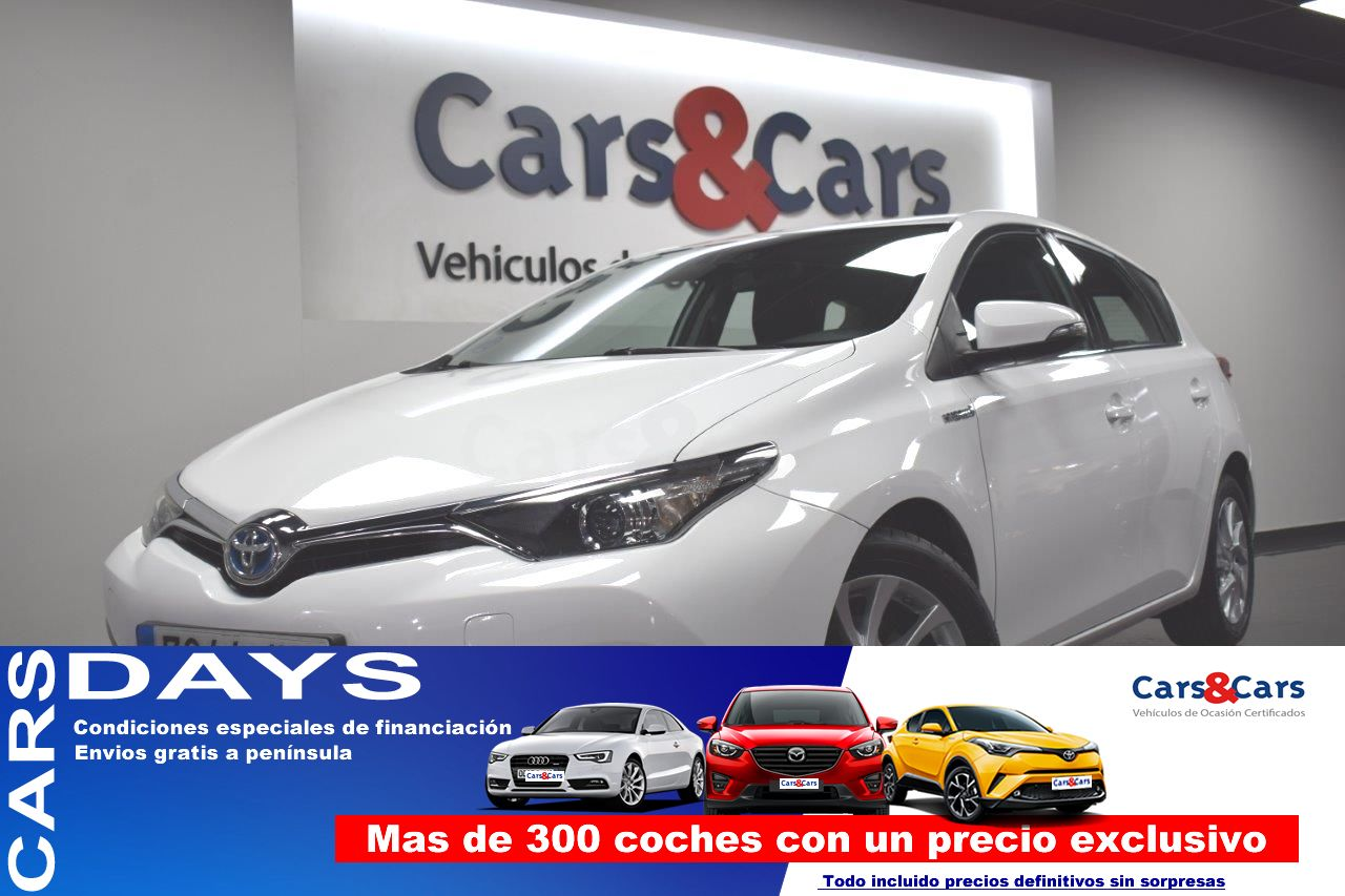 Toyota Auris ocasión segunda mano 2017 Híbrido por 12.995€ en Madrid