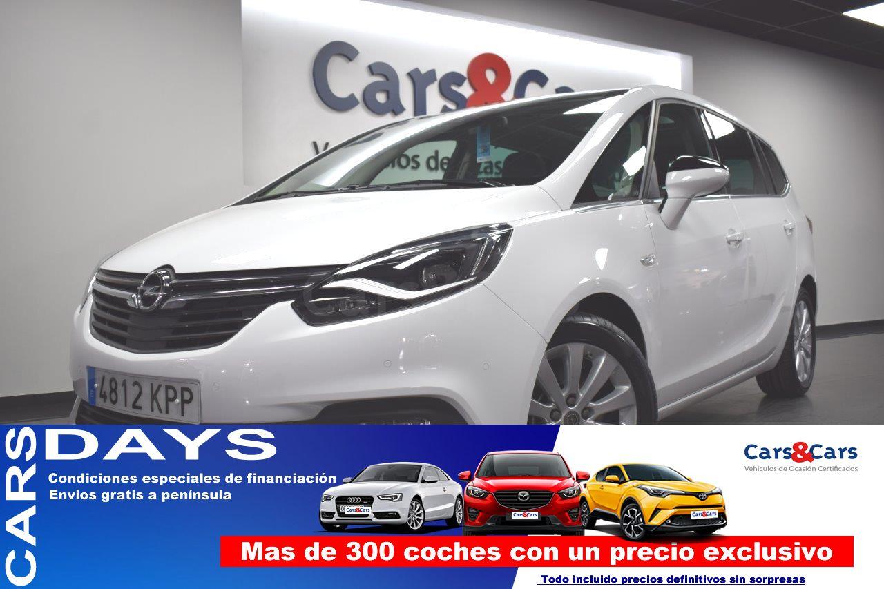 Opel Zafira ocasión segunda mano 2018 Diésel por 17.995€ en Madrid