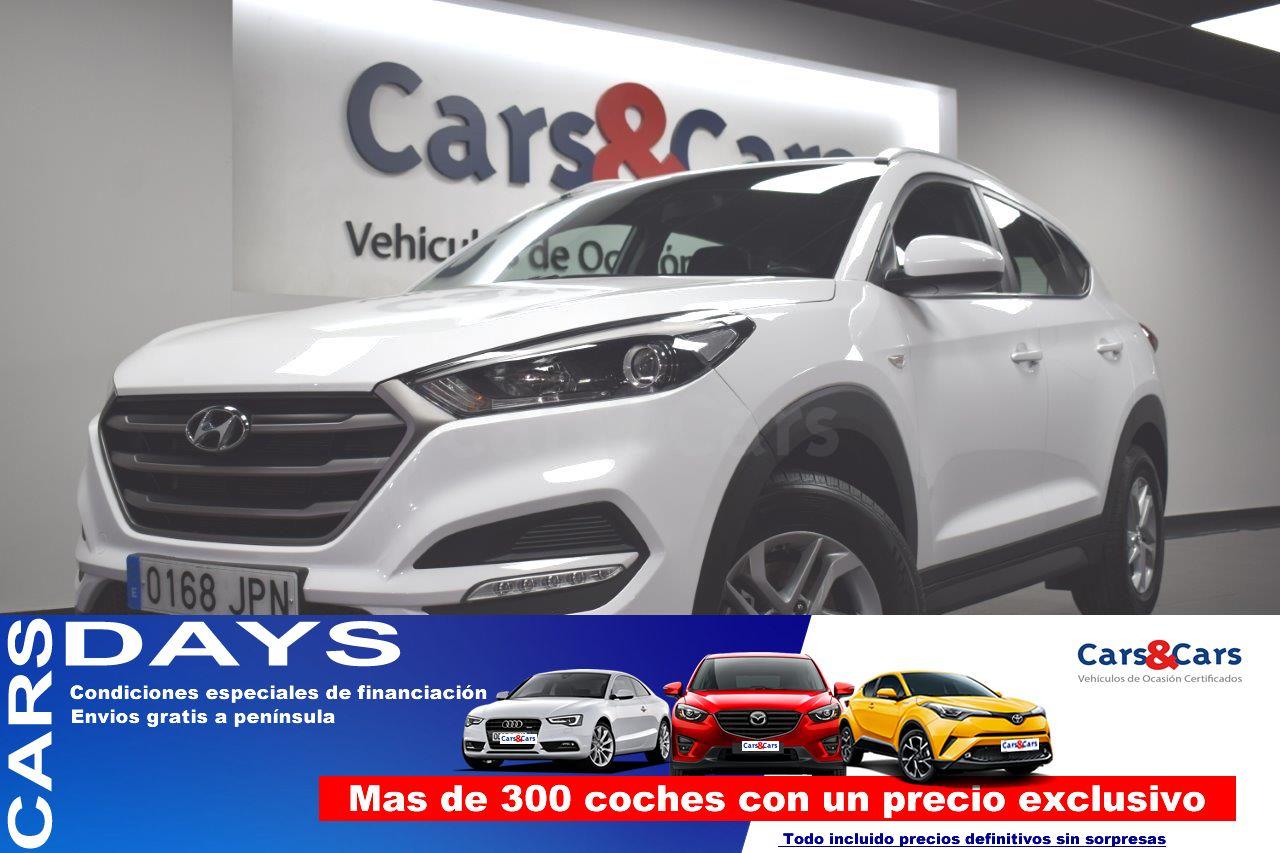 Hyundai Tucson ocasión segunda mano 2016 Gasolina por 13.995€ en Madrid