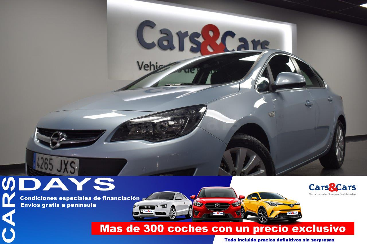 Opel Astra ocasión segunda mano 2017 Diésel por 10.995€ en Madrid
