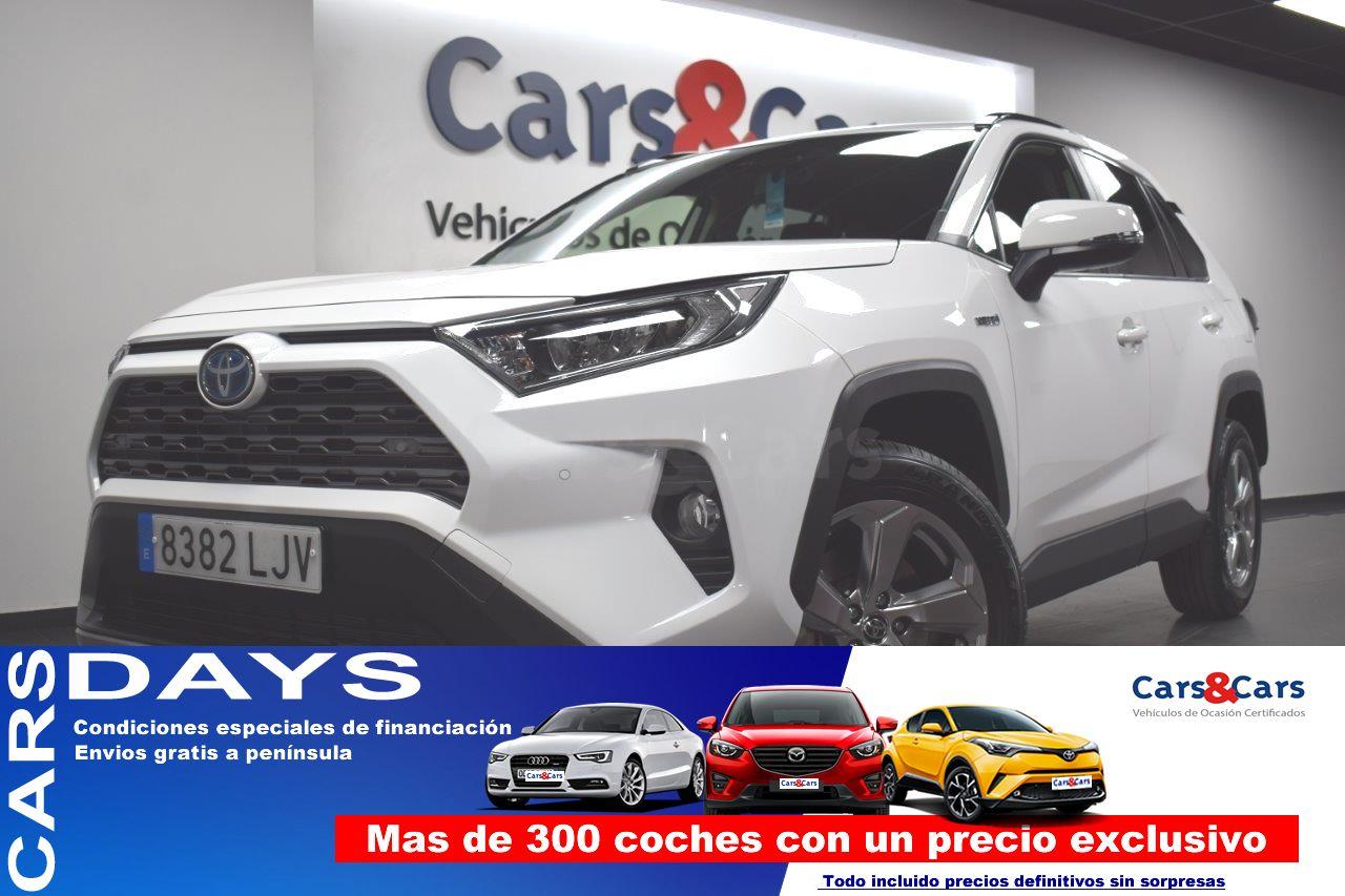 Toyota Rav4 ocasión segunda mano 2020 Híbrido por 31.995€ en Madrid
