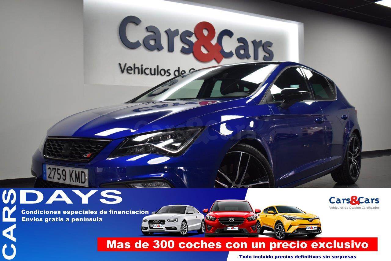 Seat Leon ocasión segunda mano 2018 Gasolina por 26.495€ en Madrid