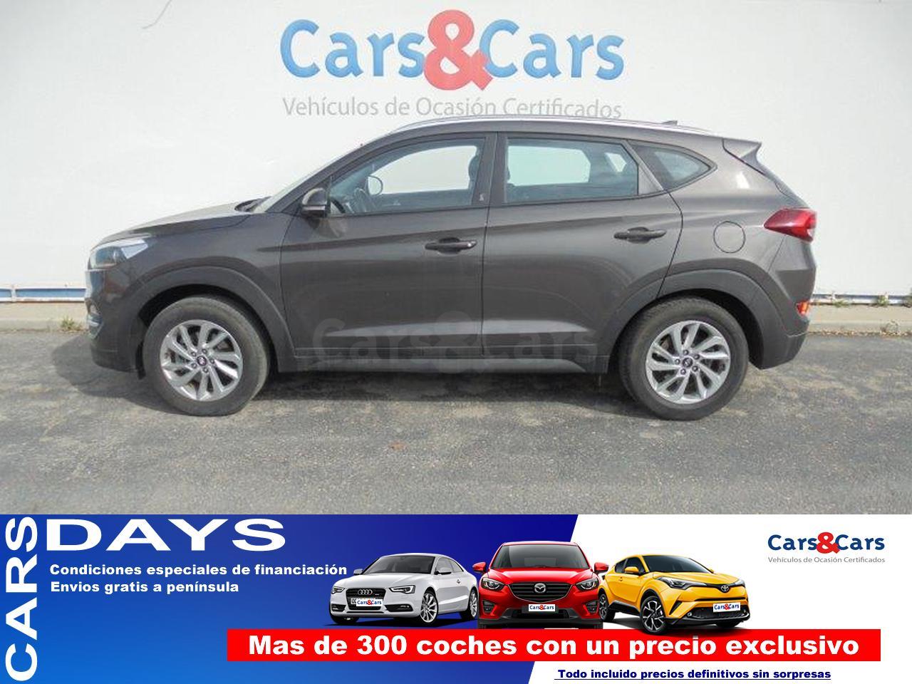 Hyundai Tucson ocasión segunda mano 2017 Diésel por 16.495€ en Madrid