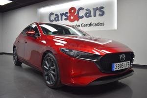 Foto 2 del anuncio MAZDA Mazda3 2.0Skyactiv-G Zenit 120 - E 3895 LFB de segunda mano en Madrid