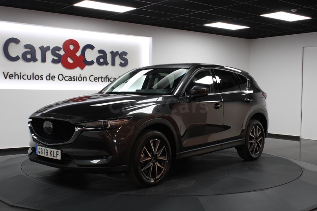 Mazda CX-5 ocasión segunda mano 2018 Diésel por 25.995€ en Madrid